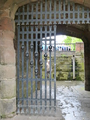 Gate, Worcester (carolyngifford) Tags: worcester gate medieval iron