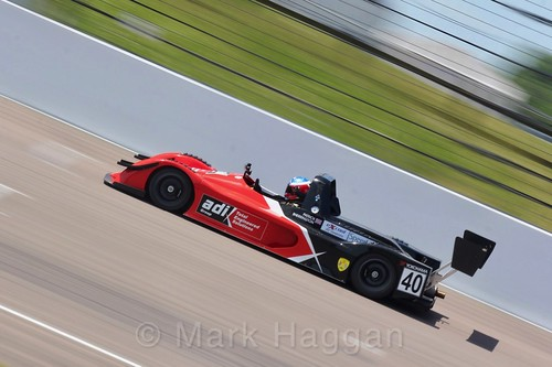 Patrick Sherrington in the Excool BRSCC OSS Championship at Rockingham, June 2017