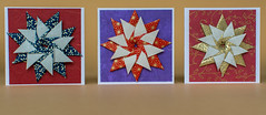 Origami (anuradhadeacon-varma) Tags: paperfolding origamistars stars christmasstars origami 2015 july july2015