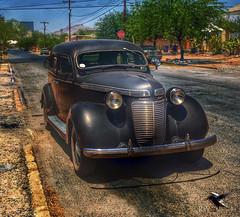 Barrio Viejo 1937 Chrysler Royal (thePhotographerRaVen) Tags: tucson arizona barrioviejo 1937 chryslerroyal chrysler historic vehicle apple iphone hdr photography photosbyraven