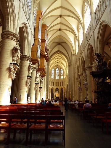 Cathédrale des Sts Michel et Gudule, Bruxelles (St Michael and St Gudula Cathedral, Brussels) (3)