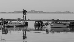 Un Mar de labores (CesarValientePhotography) Tags: san javier mar pescador canon