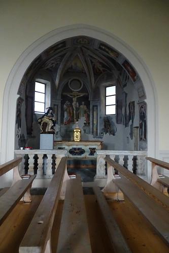 In der Pfarrkirche San Maurizio