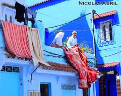 Daily life in Chefchaouen (Nicolay Abril) Tags: شفشاو الشاون تطوان المغرب أفريقيا العربي chauen xauen chefchauen tangiertetouan tétouan tangertetouan tangertetuan tetuán tetuanprovince marruecos marocco morocco maroc marokko maghreb magreb africa afrika afrique chefchaouen chaouen xaouen