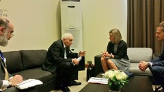 Federica Mogherini attends the World Economic Forum on the Middle East & North Africa in Jordan, May 2017 (European External Action Service - EEAS) Tags: mogherini europeanunion eu eeas wef middleeast swing oim migration unitednations un