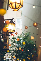 Little Belgrade Cafes (freyavev) Tags: cafe belgrade urban urbandetails serbia srbija beograd vsco 50mm niftyfifty mikasniftyfifty canon canon700d bokeh lamps colorful vracar