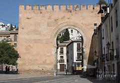 Elvira Gate / Puerta de Elvira (infinitum Photography & Video Production) Tags: infinitum infinitumstudio nikon d750 granada grenade elvira gate door porte puerta moorish árabe 70200mm 70200mmf4