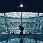Man Walking At Frankfurt Airport thumbnail