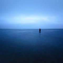 (Joe Hayhurst) Tags: anotherplace anthonygormley sea statue crosby lancashire merseyside
