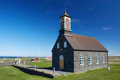 Hvalsneskirkja (church) (bjarkihalldors) Tags: reykjanes canoneos5dmarkiii canonef2470mmf28l ísland iceland