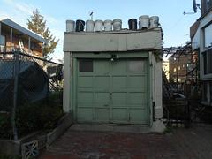 Garage Garden (navejo) Tags: montreal quebec canada garage garden roof