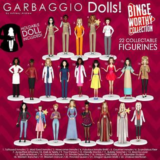 Garbaggio Dolls Bingeworthy Collection Gacha Key