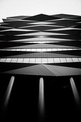 Mita, Tokyo (Masahiko Kuroki (a.k.a miyabean)) Tags: bw monochrome noiretblanc architecture xt2 fujifilmebcxf1855mm1284rlmois 三田 麻布十番 中の橋 東京