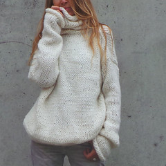 Soft cozy woolen knitted sweater (Mytwist) Tags: women cowl neck long sleeve autumn winter oversize sweater loose knitted jumper seasonscolors cowlneck turtleneck rollneck rollkragen wool outfit knitwear style fashion modern cozy sexy warm knitting sweatergirl