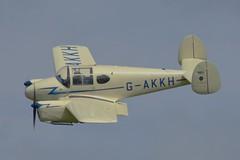 Miles Gemini 1A G-AKKH (Fleet flyer) Tags: milesgemini1agakkh milesgemini1a gemini1a miles gemini 1a gakkh oldwarden shuttleworth shuttleworthcollection bedfordshire