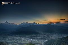 sarangkot- sunrise-4 logo (anindya0909) Tags: nepal sarangkot sunise sunrise