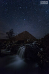 Buachaille Stars (SLP_Photography) Tags: buachaille etive mor scotland scottish landscape astrophotography stars andromeda galaxy canon 5d4 1740mm glencoe mountain waterfall