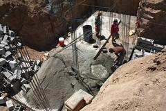Groundwork for the DEWATS (Jiyan Foundation) Tags: jiyan foundation humanrights chamchamal iraq irak garden therapy psychotherapy rehabilitation borda sewage water recycling wasseraufbereitung healinggarden kurdistan