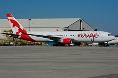 C-FMWP (rouge) (Steelhead 2010) Tags: aircanada rouge boeing b767 b767300er yhm creg cfmwp