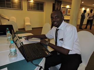 Walter Mangesho. Photo Credit: ILRI/Mercy Becon