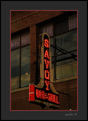 Savoy Bar & Grill (the Gallopping Geezer '4.7' million + views....) Tags: sign signage signs old business store storefront saginaw mi michigan mitten canon geezer 2016 savoy bargrill bar pub tavern restaurant food dine dinner grub 5d3 24105