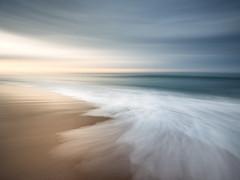 Beach ICM (Alistair Bennett) Tags: seatonsluice beach icm handheld northumberland seascape evening sunset polarizer gnd045se canonef1740mmƒ4lusm