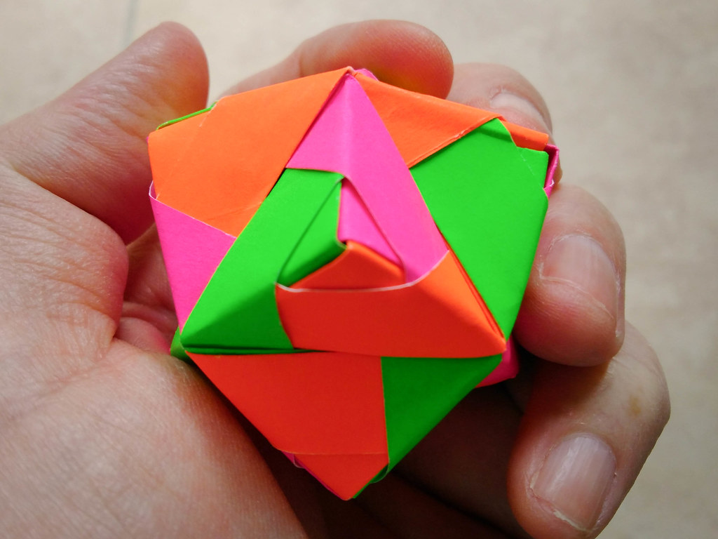 The World's Best Photos of origami and sonobe - Flickr ... - photo#22