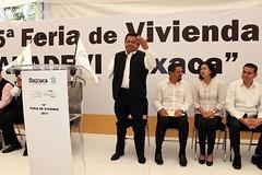 Gobierno de Alejandro Murat da apoyo decido a construcción de vivienda social: FSHV.