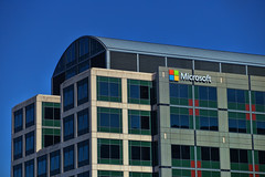 Microsoft (raymondclarkeimages) Tags: rci raymondclarkeimages 8one8studios yahoo flickr google usa outdoor architecture microsoft building canon 6d corporation software 70200mm bluesky windows