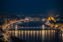 Budapest by night (Vagelis Pikoulas) Tags: budapest hungary travel view landscape city cityscape europe canon 6d tamron 70200mm lights november autumn 2016