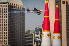 Red Bull Air Race (Kevin Baird) Tags: aerobatics airplane airshow aviation flying rebbull redbullairrace sandiego sandiegobay sandiegoskyline skyline