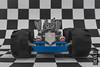 Space kart - view 02 (Priovit70) Tags: lego classicspace spacekart blue wheels mrrobot engine lightbluishgray checkeredflag olympuspenepl7