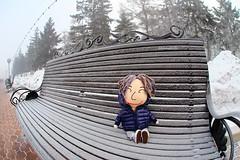 IMG_9434a (bfatphoto) Tags: irkutsk russia snow ice winter baikal lake street doll fisheye