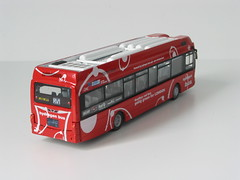 Hydrogen Fuel Cell Conversion (Accyblue) Tags: london hydrogen fuel cell bus wright pulsar sb200