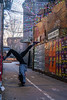 Handstand and Winter Glitter (Tobi Lehmann) Tags: handstand winter cassiopeia berlin colorful berlinstreets lights colorfullights
