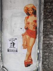 Jodie Foster Flyposter (Trafalgar Street, Brighton) (The Lens of Lucid Frenzy) Tags: art graffiti streetart brighton posters