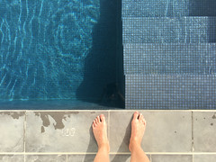 Paphos, Cyprus, 2017 (jpl.me) Tags: paphos pafos cyprus 2017 travel tourism man male feet toes pool water skin almyra hotel poolside