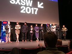 "SXSW 2017 Premiere: ""Gemini"" (escriteur) Tags: img6546 texas austin sxsw 2017 film movie premiere worldpremiere stateside theater theatre gemini aaronkatz lolakirke johncho mynettelouie adeleromanski"