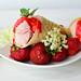 Selbstgemachtes Erdbeer-Eis
