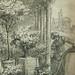 MONNET Charles - La Promenade (drawing, dessin, disegno-Louvre RF34443) - Detail 49