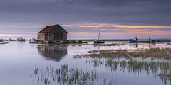 Thornham Salt Marsh (Simon Owens (1)) Tags: thornhamsaltmarshes thornhamharbour norfolksaltmarshes thornhamboats