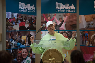 June 1, 2017 -- N Street Village Groundbreaking
