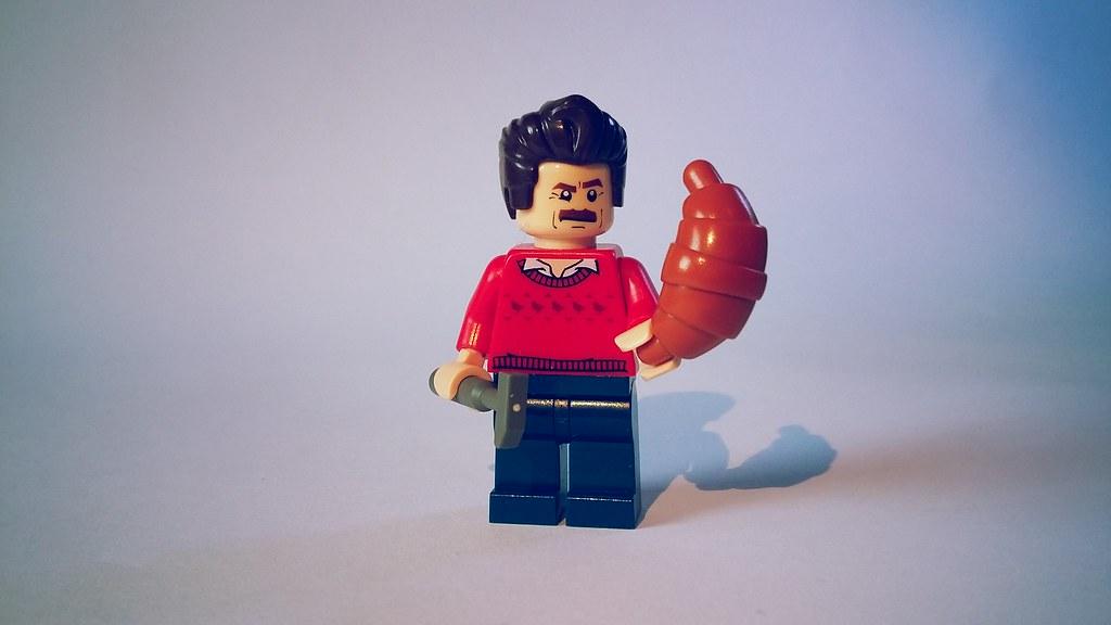 Lego Surfboarder