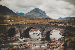 Sligachan Old Bridge, Cuillin Hills