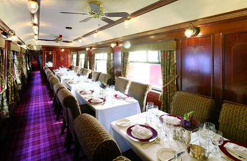 Belmond Royal Scotsman Dining Car