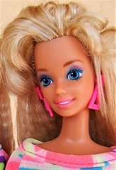 Totally Hair Barbie glamorous bangs (Dollytopia) Tags: barbie totally hair mattel doll longest crimped blonde 90s nostalgia icon classic superstar