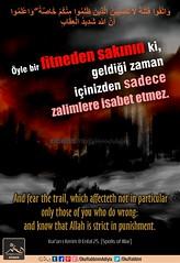 Enfal 25. (Oku Rabbinin Adiyla) Tags: allah kuran islam ayet ayetler hadis armageddon endoftheworld muslim rahman judgementday