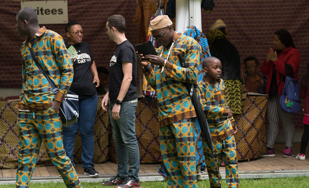 TRYING TO BLEND IN [AFRICA DAY 2017 IN DUBLIN]-128873