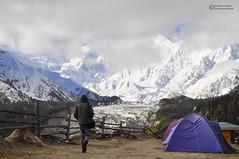 Towards the giant (Shayan Ahmed Khan) Tags: nangaparbat mountain killermountain white snow camping height photography