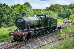 SVR 01 June 2017 (47) (BaggieWeave) Tags: worcestershire shropshire svr severnvalleyrailway heritagerailway vintage steam steamengine steamlocomotive steamtrain gwr greatwesternrailway 280 28xx highley 2857